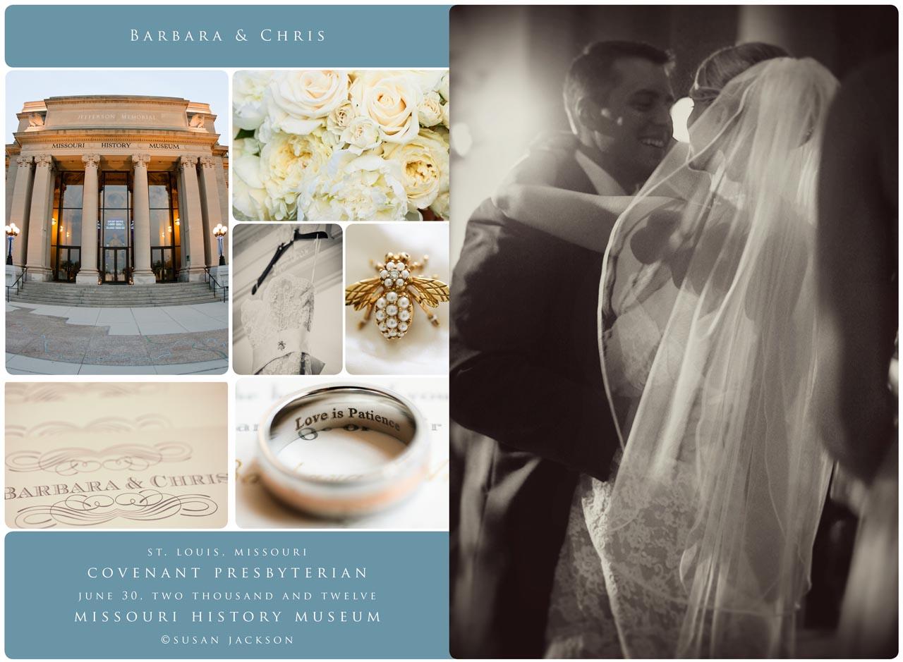 Barbara and Chris\'s Wedding, The History Museum, St. Louis, Missouri ...